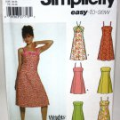 Dress Pattern with Style Variations - Simplicity 5052