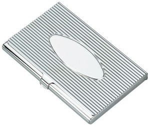 Business Card CaseSilver tone