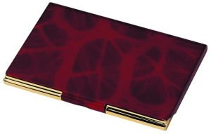 Business Card Case wine