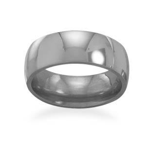 Polished Titanium Ring