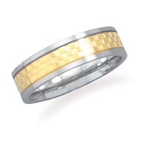 Steel Ring Checker Pattern