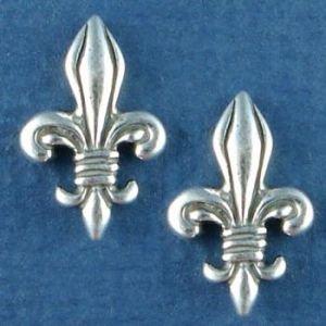 Fleur de Lis Sterling Silver