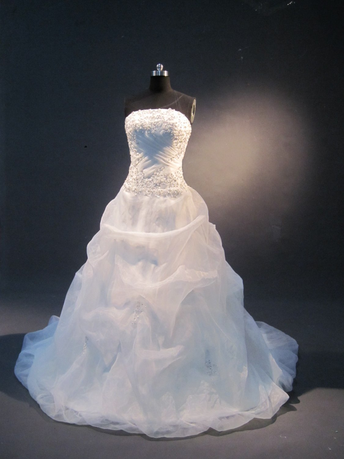 real bubble skirt cute wedding gown IMG1631
