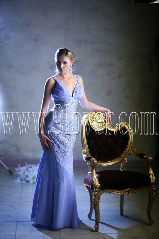 2012 Junoesque Strap Prom Dress 9loverQ0008