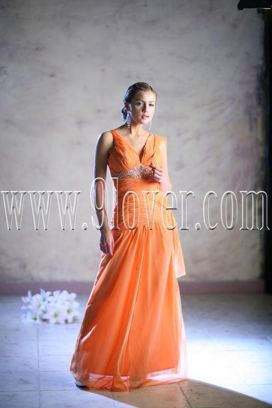 2012 Sexy V-Neck Prom Dress 9loverQ0009