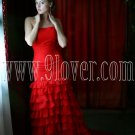 2012 Beautiful Red Prom Gown Dress 9loverQ0011