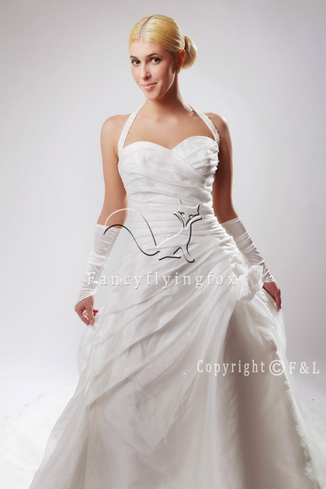 Fall 2011 Halter Wedding Ball Gown 25596