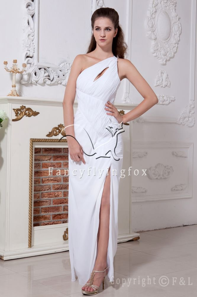Sexy One Shoulder Prom Dress LF-15027 party dress