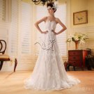 2013 Spanish Strapless Simple Wedding Dress PRO6