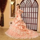 2013 Dusty Rose Princess Wedding Dress PRO3