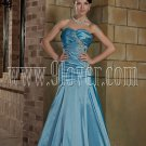Stunning Sky Blue Mermaid Prom Dress 001