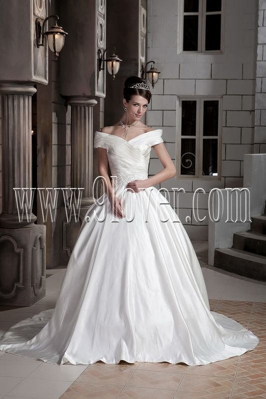 Strapless Mermaid Beaded Taffeta Gown Style 123818