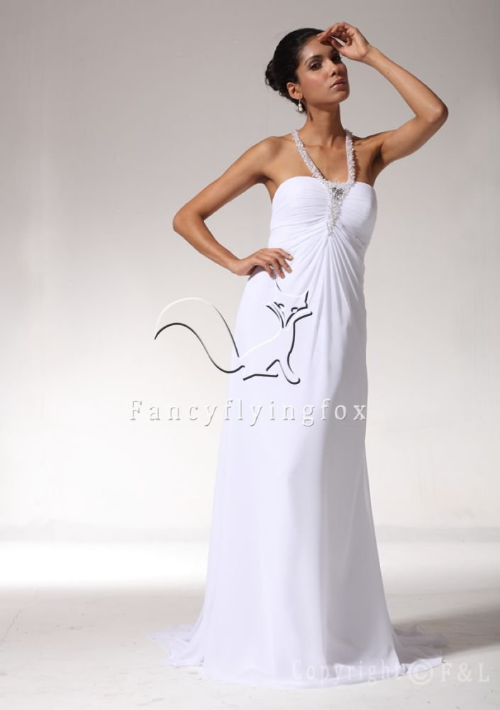 Charming T-Back Pregnant Empire Bridal Gown WG3208