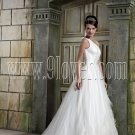 Junoesque One Shoulder A-Line Bridal Gown Style 9SML9790
