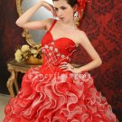 Fall 2013 Petites Colorful Cinderella Quinceanera Gown 003