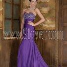 Purple Mermaid Sexy Prom Dress 0013