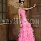 Pink Sexy Mermaid Evening Dress 2029