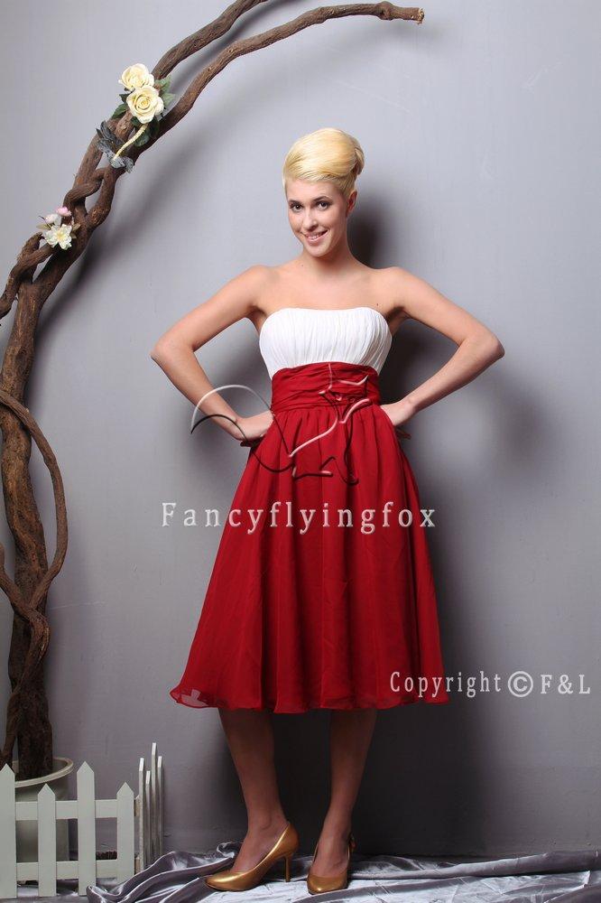 Strapless Pregnancy Sepcial Occasion Plus Size Prom Dress 6505WF