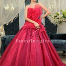 Beautiful Long Quinceanera Dress 9791