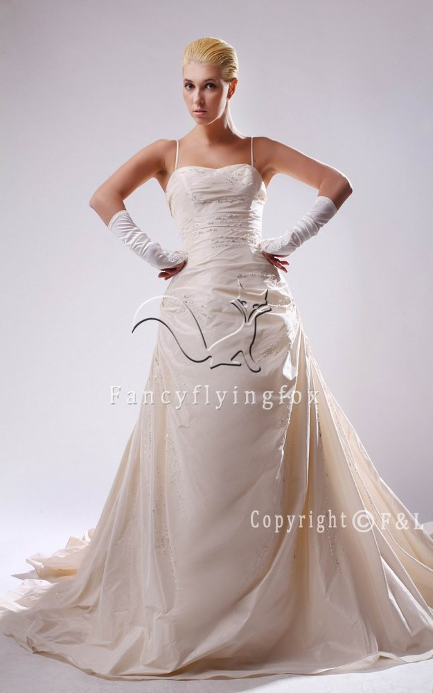 Romantic Full Figured Bridal Gowns 2230W