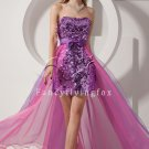 2012 Organza Short Sweet 16 dress 173304