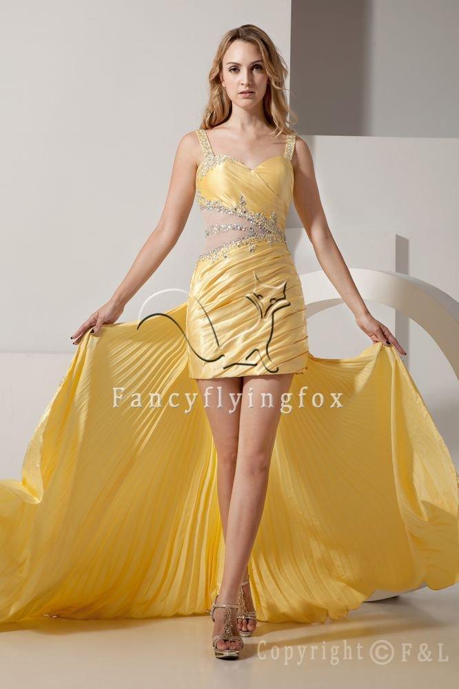 Detachable Train Short Prom Dress 7236A