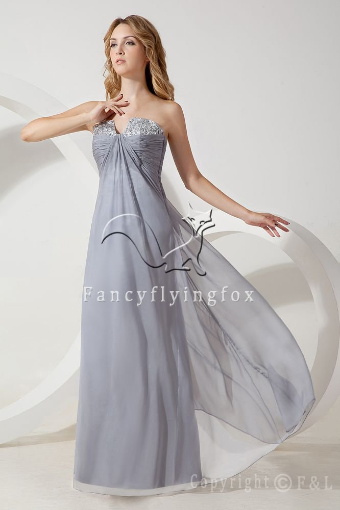 Gray Maternity Bridesmaid Dress IMG_1443