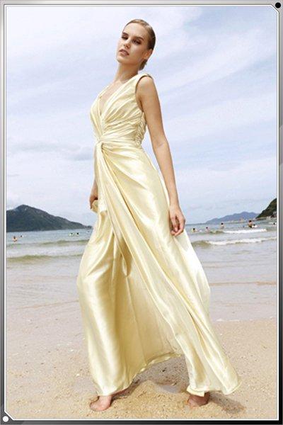 Gold Sexy Beach Prom Dress MG_3258