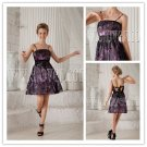 2013 modern and chic sexy spaghetti straps a-line mini length short prom dress with lace up IMG-9831