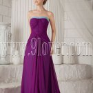 modest 2013 chiffon strapless a-line floor length evening gowns with brush train IMG-9506