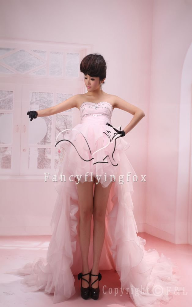 pearl pink tulle sweetheart a-line mini length cocktail dress 2011Y-360