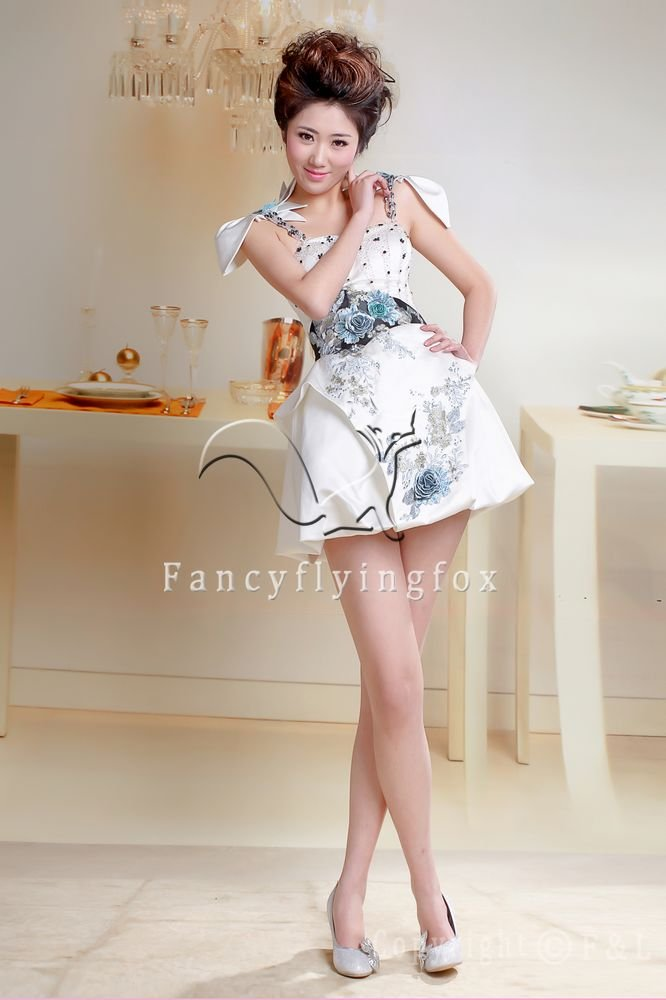 sexy cap sleeves a-line mini skirt short homecoming dress for summer 391