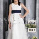 formal white tulle jewel neck a-line floor length flower girl dress IMG-2654
