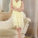 modern daffodil chiffon scoop neck a-line homecoming dress IMG-5296