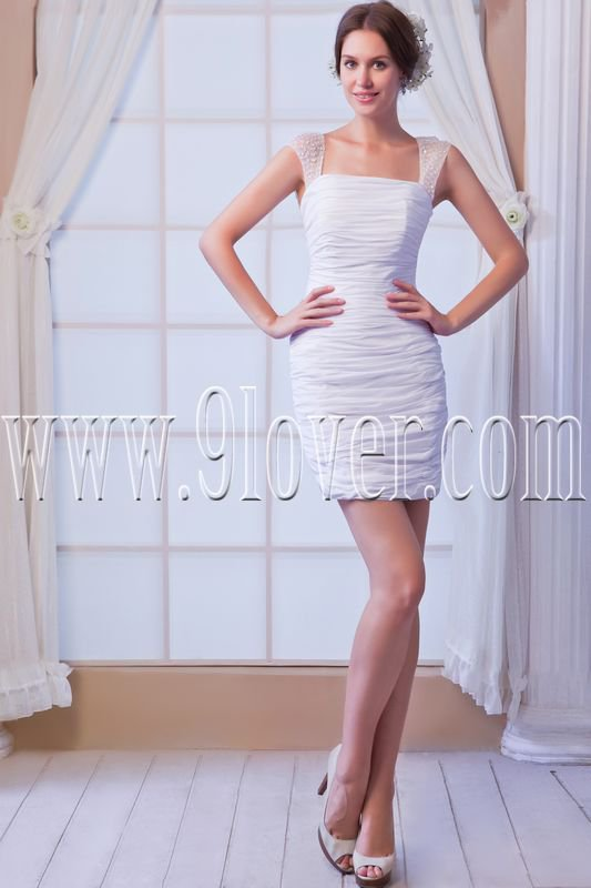 sexy and modern sheath mini length cocktail dress IMG-8108