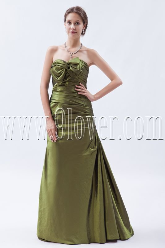 glamour hunter taffeta sweetheart a-line floor length mother of the bride dress IMG-8988