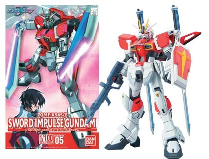 Sword Impulse Gundam
