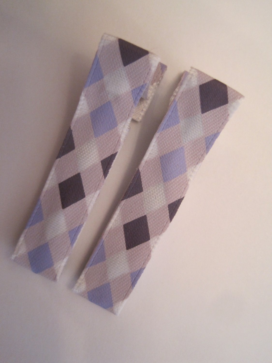 Purple Argyle Lined Clippies