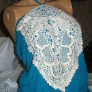 Bohemian Chic Lovely Aqua Blue Halter Top-Large-WURL-NWT