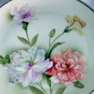 Carnation Flowers Handpainted Antique Bavaria Double Handled Platter Z S & CO Royal Munich