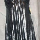 Silvertone Size 8 Shimmering Lame Evening Dress NWT New With Tags Excellent Condition