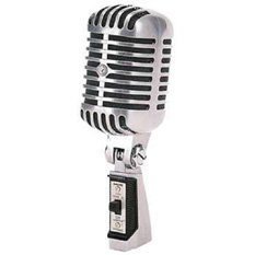 Microphone, w/stand and speaker