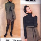 90's RARE/UNCUT Vogue American Designer DKNY 1673 Misses' Jacket & Skirt Pattern