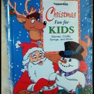 BRAND NEW TupperKids CHRISTMAS FUN FOR KIDS HARD COVER BOOK OF CRAFTS