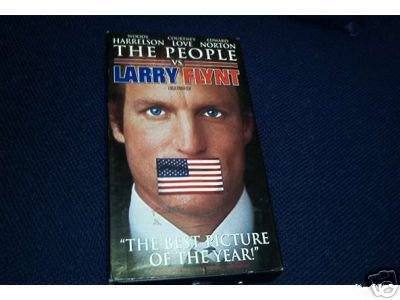 THE PEOPLE VS LARRY FLYNT VIDEO GREAT ONE EXCELLENT CONDITION