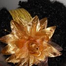 Royalty Gold Flower Headband
