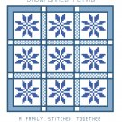 Snowflakes Flying Quilt Pattern Chart Graph