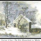 The Old Homestead in Winter Pattern Chart Graph