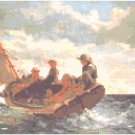 Breezing Up by Winslow Homer PatternChart Graph