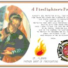 A Firefighter's Prayer Pattern Chart Graph